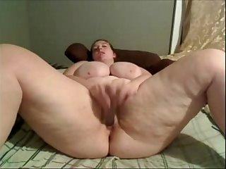 BBW Lusty dual toy orgasm