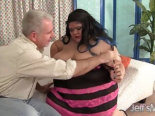 Fatty Asian BBW Sugar gets fucked hard