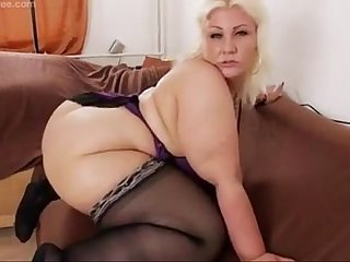 awsome blonde bbw from DesireBBWs .com