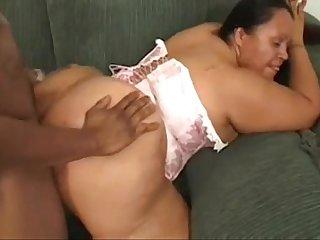 Mexican bbw fucked by black cock