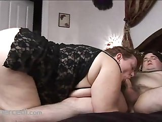 Fat Wife Carla Sucks Cock Amateur, BBW Blowjob Cumshot Hardcore Mature