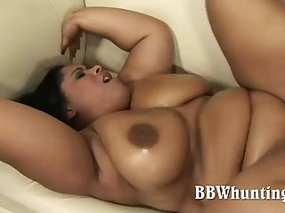 Stunning latina BBW model hardcore