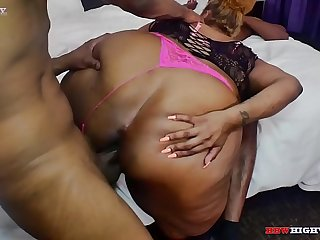 latina bbw coco santiago takes two bbc on BBWHighway.com