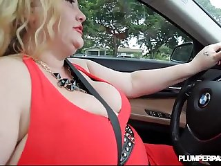 Slutty BBW MILF Sienna Hills Cruises Hood for some Cock