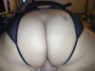 Bbw Asian anal