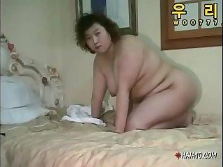 Korean BBW I met on Meetfat.com asian