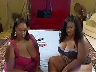 Gemini Gem & Sexy Phat Lesbians Bbw in action