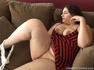 Beautiful big belly, boobs & booty BBW wishes you were fucking her fat pussy