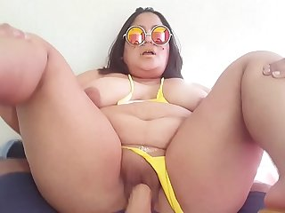 "Succulent belly 3 ""Bbw Bikini fuck"""
