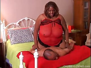 Beautiful big boobs black BBW Minxx loves to fuck
