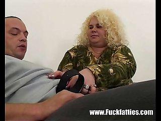 Gigantic BBW Girlfriend Getting It On With Her Boyfriend