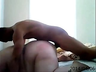Mature bbw gets afternoon black cock fucking