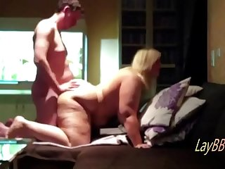 huge tits blonde BBW get fucked repeatedly