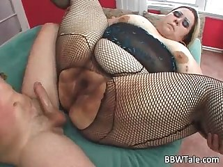 Fat big blonde skank with big breasts
