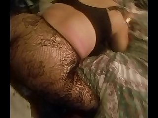 fuckin my girl mom in her fat ass watch her giant tis bounce real!
