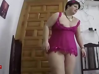 Fucking the fat girl with heels. SAN299