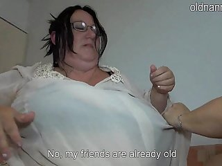 Old fat women fucking it bed