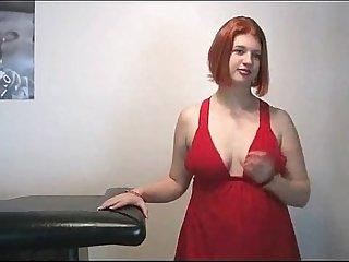 Horny Fat Chubby Redhead GF