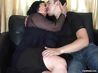 Fat Granny Loves Anal
