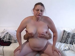 MMV FILMS Horny Fat German Amateur