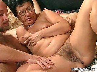 Mature chubby sluts enjoying in wild