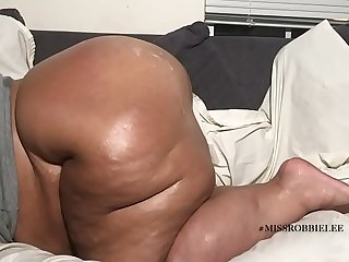 Tanned White Pawg Gets Black Dick From Back, then Cum On Fat ass Cheeks... Please follow IG @pawg robbielee
