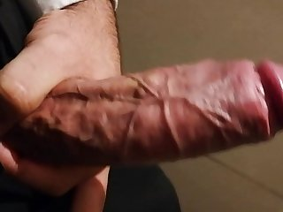 My big fat cock cumshot