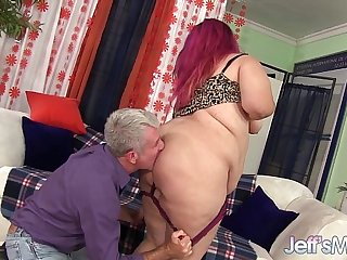 Chubby and bubbly gets fucked hard