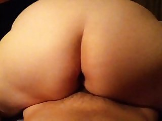 Riding a dick and getting full of cum