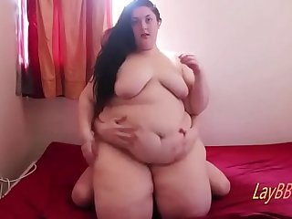 fat belly ssbbw riding dick