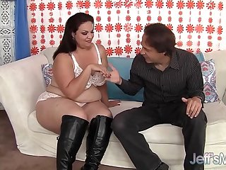 Mexican plumper Angelina hardcore sex