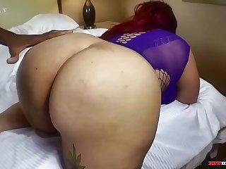 Chubby blasian getting big dick in BBWHIGHWAY