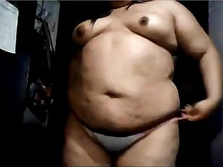 Horny BBW on webcam