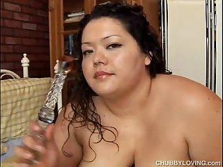 Chubby latina big tits